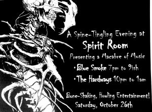 Blue Smoke @ Spirit Room
