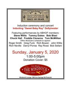 Arizona Blues Hall of Fame – Ray DeSylvester Induction Celebration @ Windsock Lounge